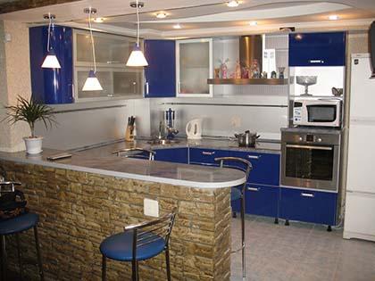 Дизайн модної кухні