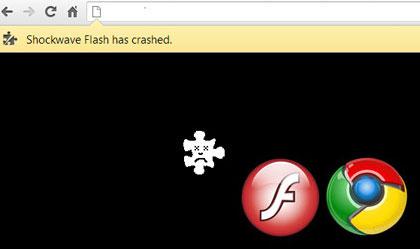 shockwave flash не відповідає